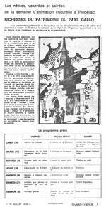Un article avec le programme