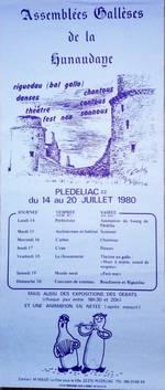 L'affiche de 1980