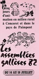 Le programme 1982