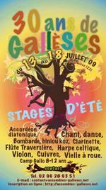L'affiche des stages 2009