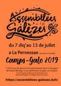 Le flyer Camp-Galo 2019