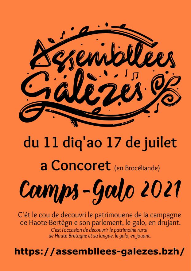 Flyer Camp-Galo : cliquer pour charger la vignette