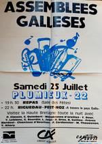 L'affiche de 1992 - fest-noz