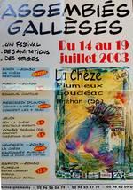 L'affiche de 2003 - spectacles