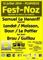 L'affiche 2014 - fest-noz