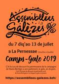 Le flyer Camp-Galo 2019